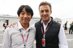 Legends Ukyo and Alesi