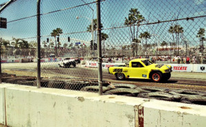 Robby Gordon trucks at Long Beach Grand Prix